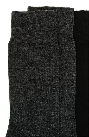 Antrasit 2'Li Çorap Set