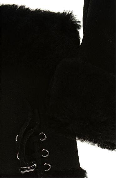 Siyah Kadın Eldiven