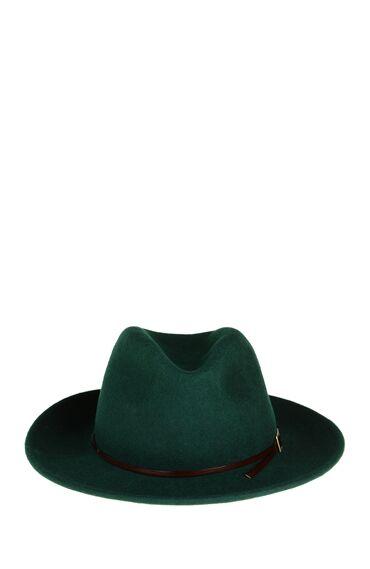 Yün Yeşil Şapka
