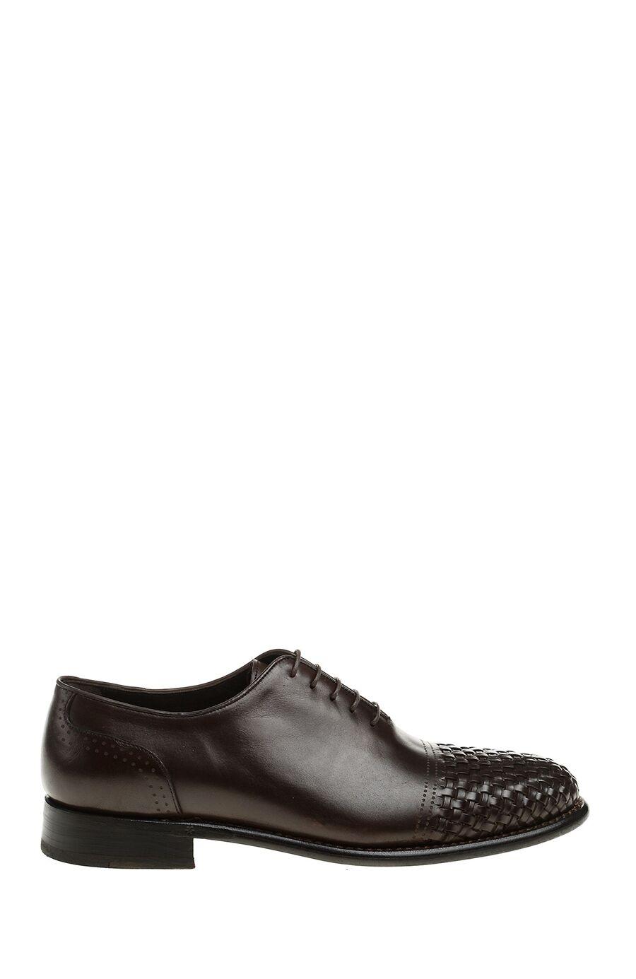 Di Tirolli Kahverengi Deri Ayakkabı