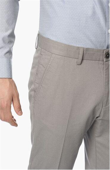 Armürlü Gri Pantolon