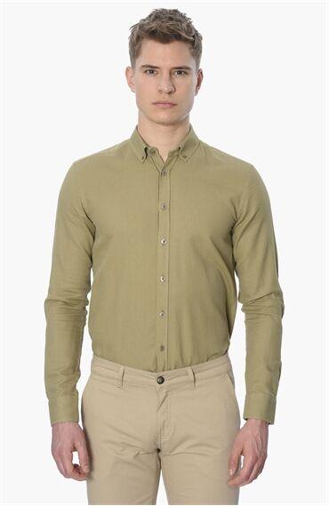 Mıkro Yağ Yeşili Gömlek