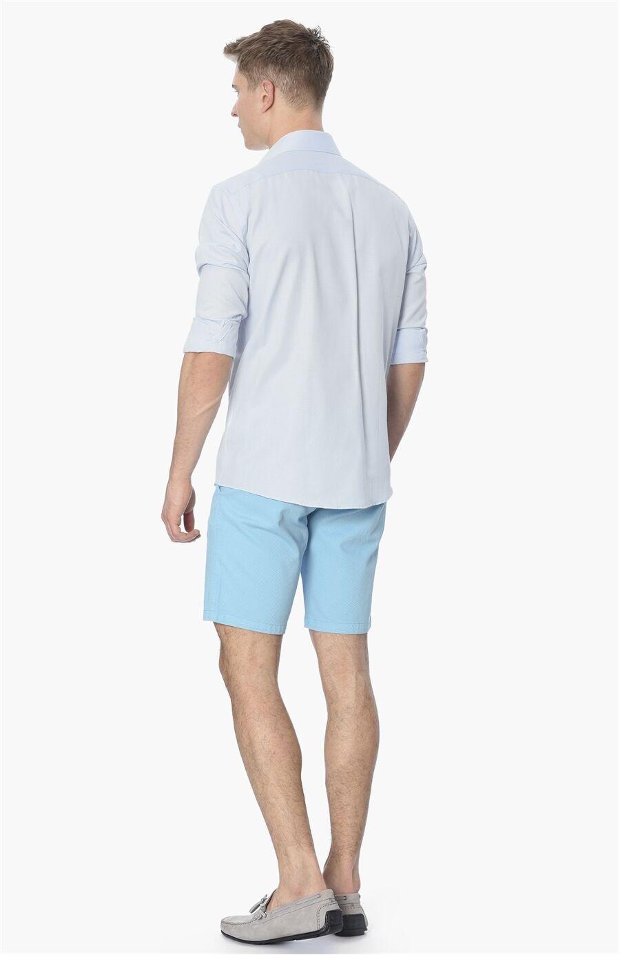 Mıkro Açık Mavi Gömlek