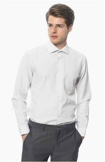 Jakarlı Bej Gömlek