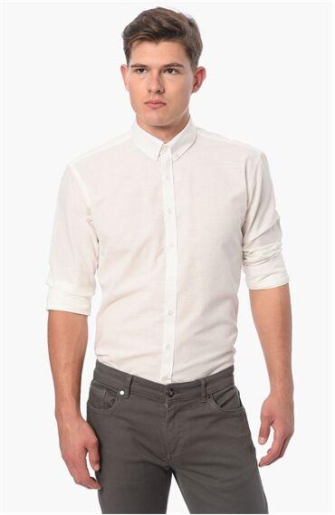 Kareli Beyaz Gömlek