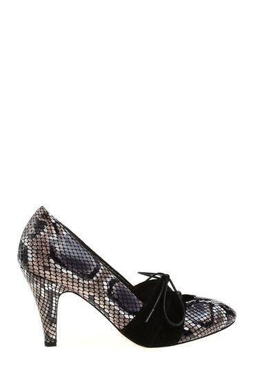 1950 Ler Koleksiyonu Piton Baskılı Ayakkabı