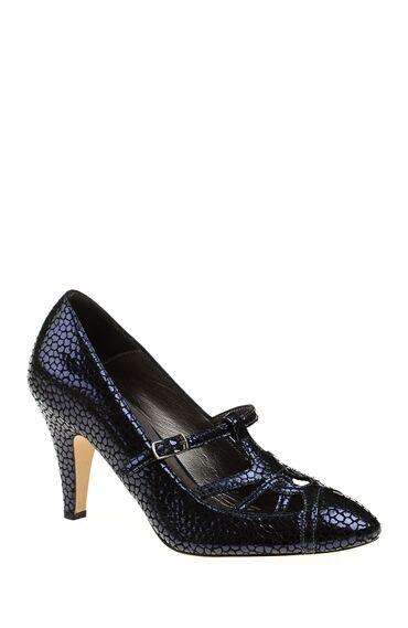 1950 Ler Koleksiyonu Lacivert Ayakkabı
