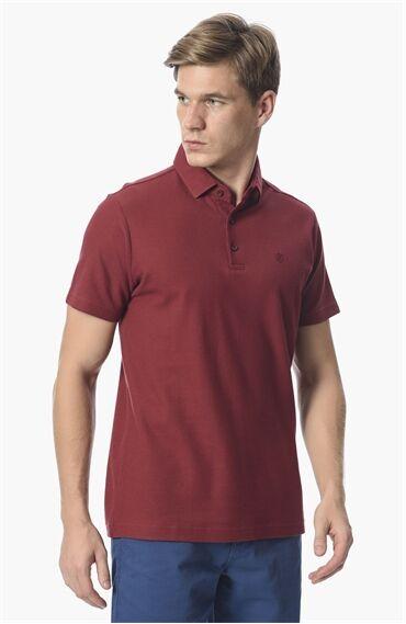 Slım Fit Kısa Kol Kırmızı Tshirt
