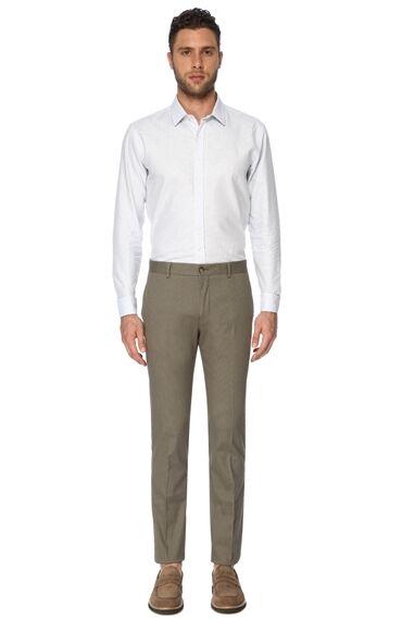 Armürlü Yeşil Pantolon