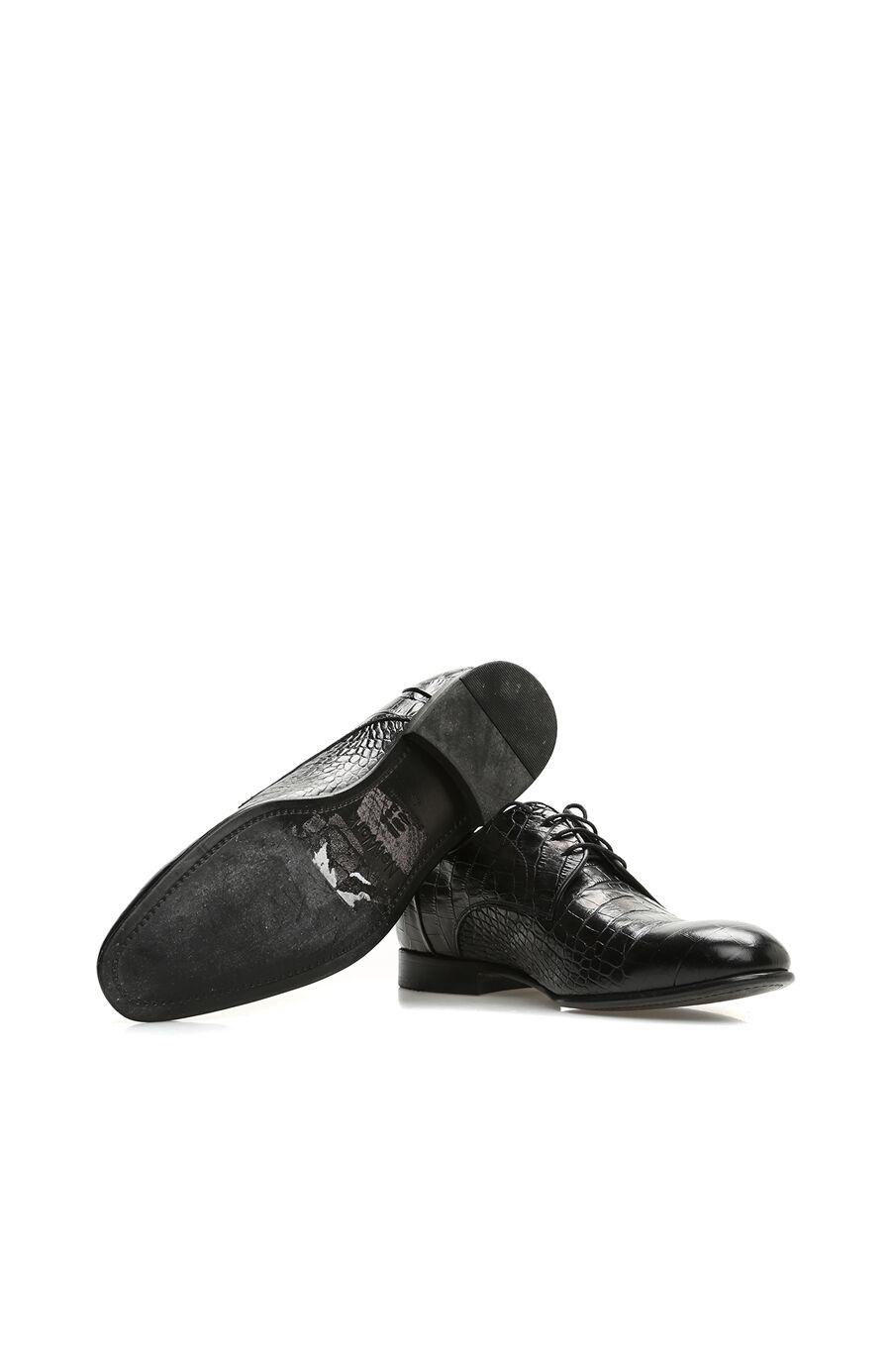 Siyah Deri Ayakkabı