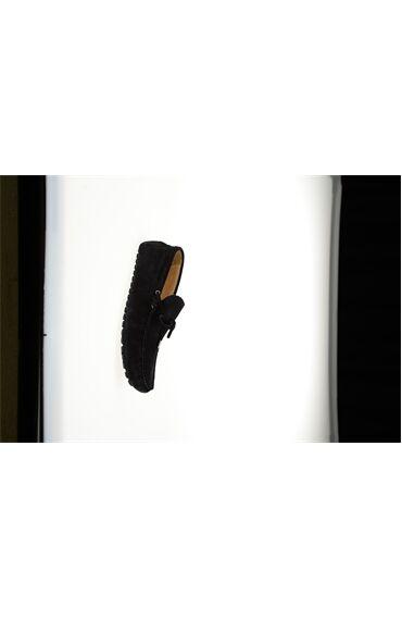 Lacivert Süet Deri Ayakkabı