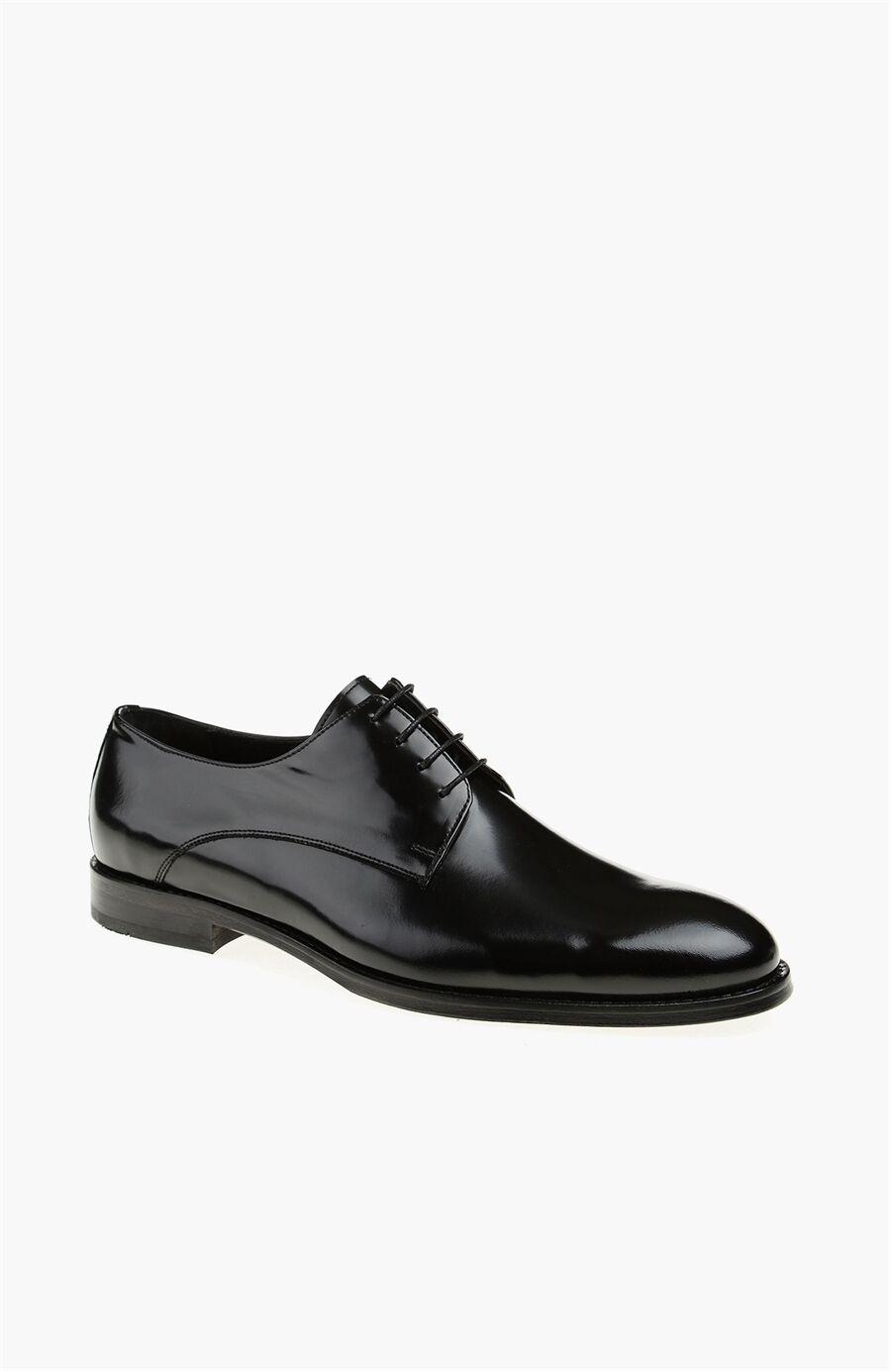 Siyah Deri Erkek Ayakkabı