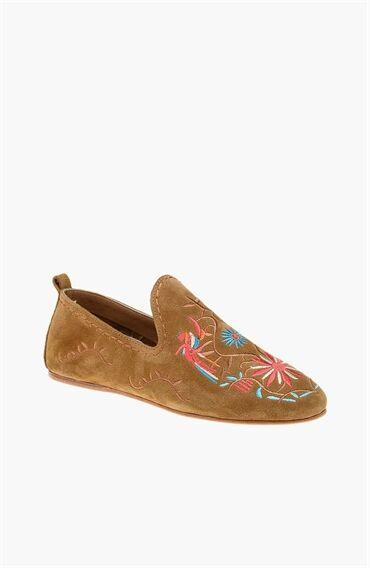 Süet Taba Ayakkabı