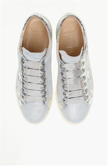 Süet Gri Kadın Ayakkabı