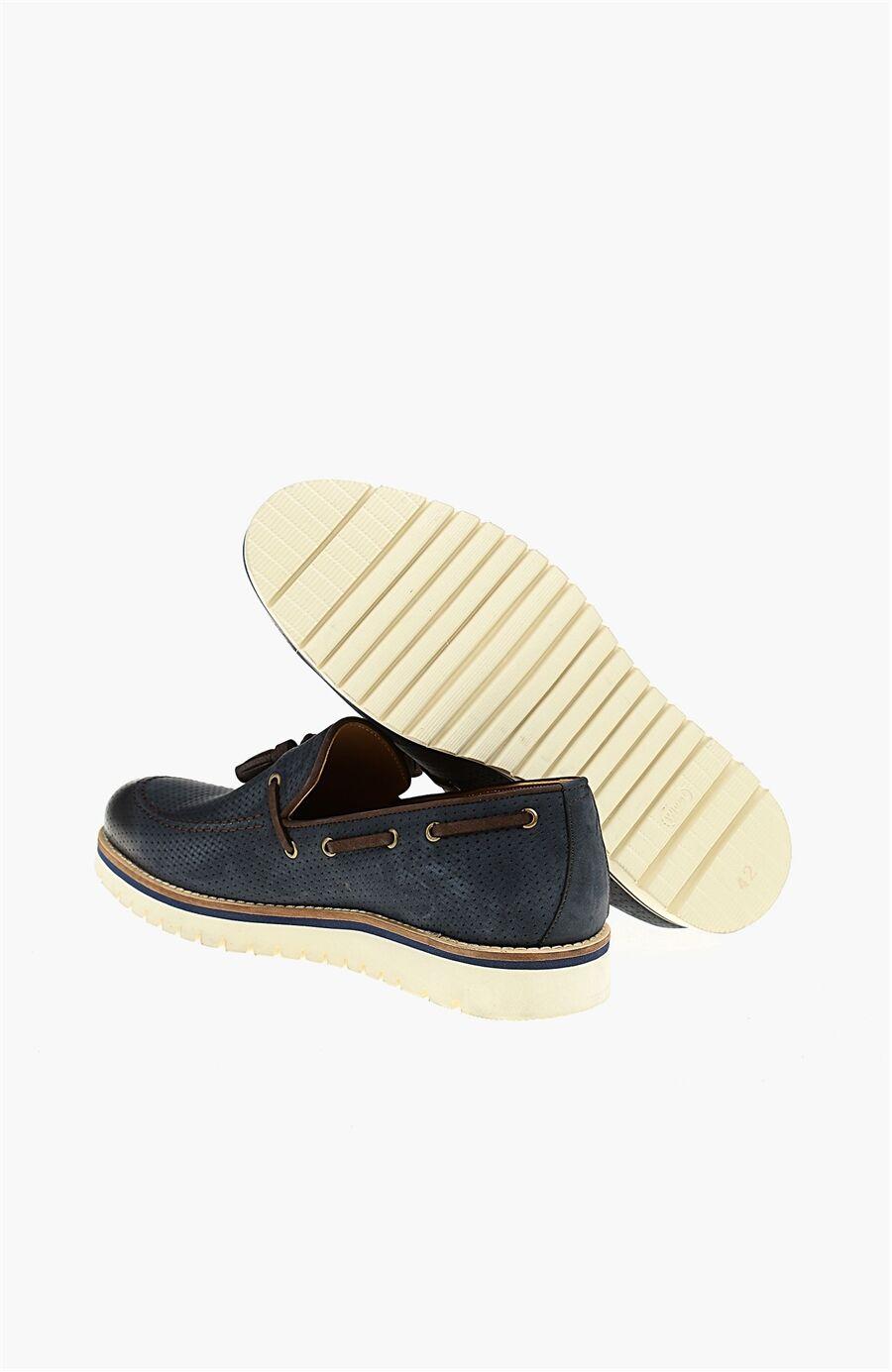 Lacivert Loafer