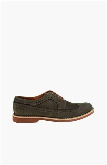 Nubuk Haki Ayakkabı