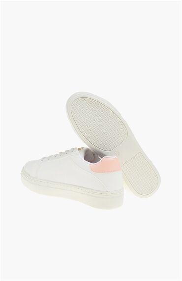 Beyaz Pembe Sneaker