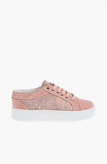 Nubuk Pembe Sneaker