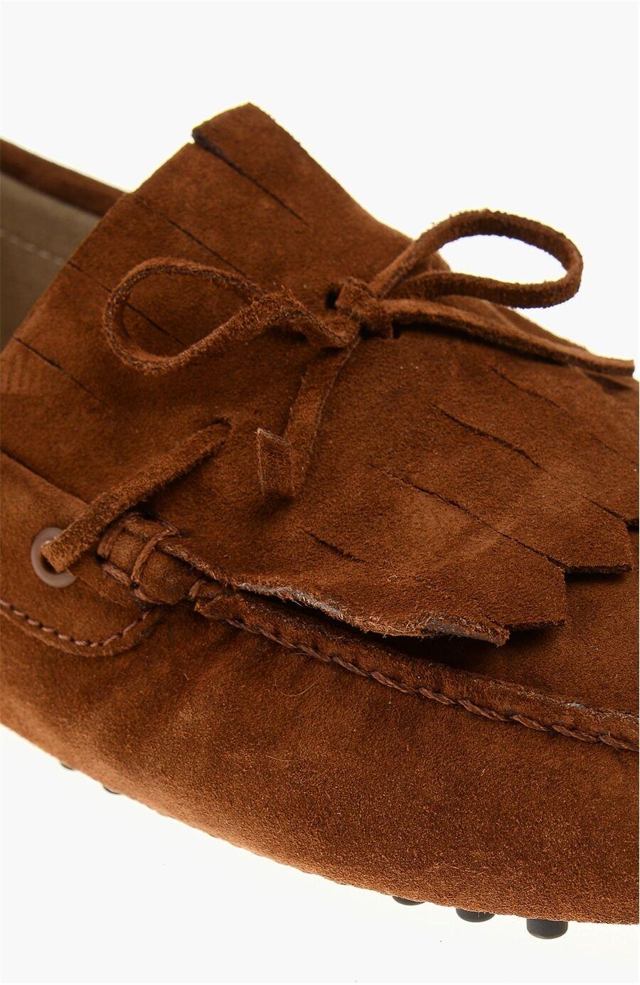 Süet Kızılcilttaba Loafer Ayakkabı