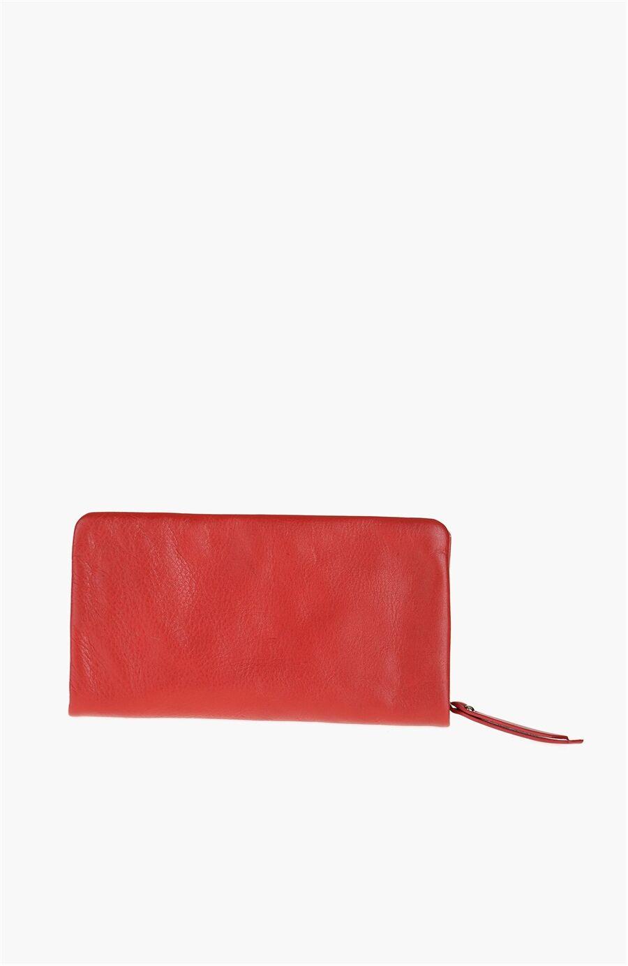 Kırmızı Kadın Cüzdan