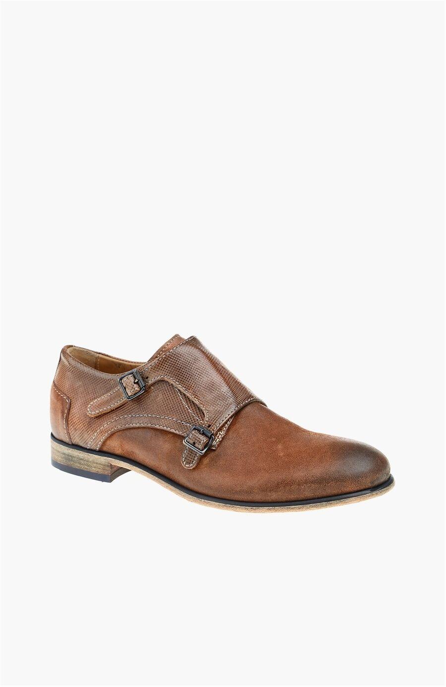 Konyak Süet Erkek Ayakkabı