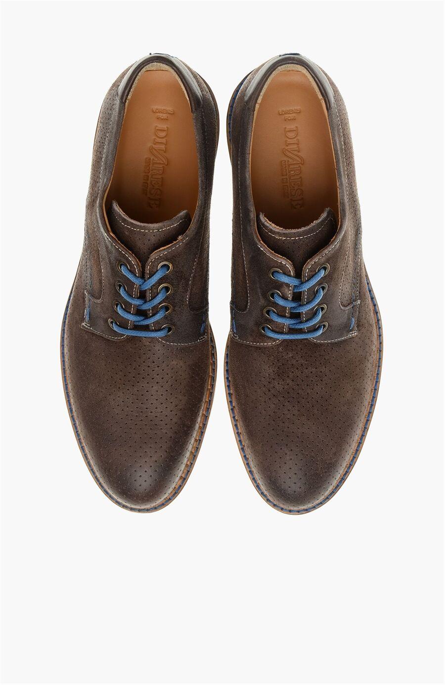 Süet Kahverengi Ayakkabı