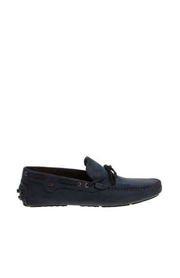 Lacivert Nubuk Erkek Loafer