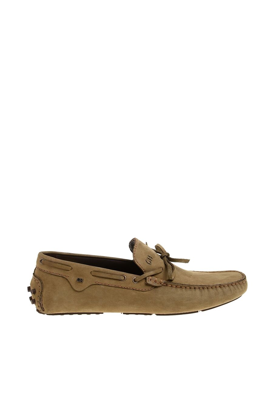 Haki Nubuk Erkek Loafer