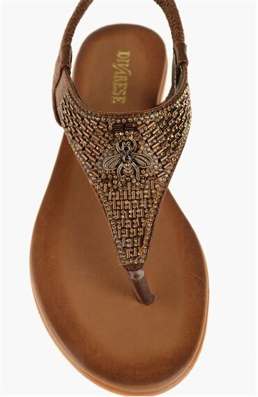 Bronz Sandalet