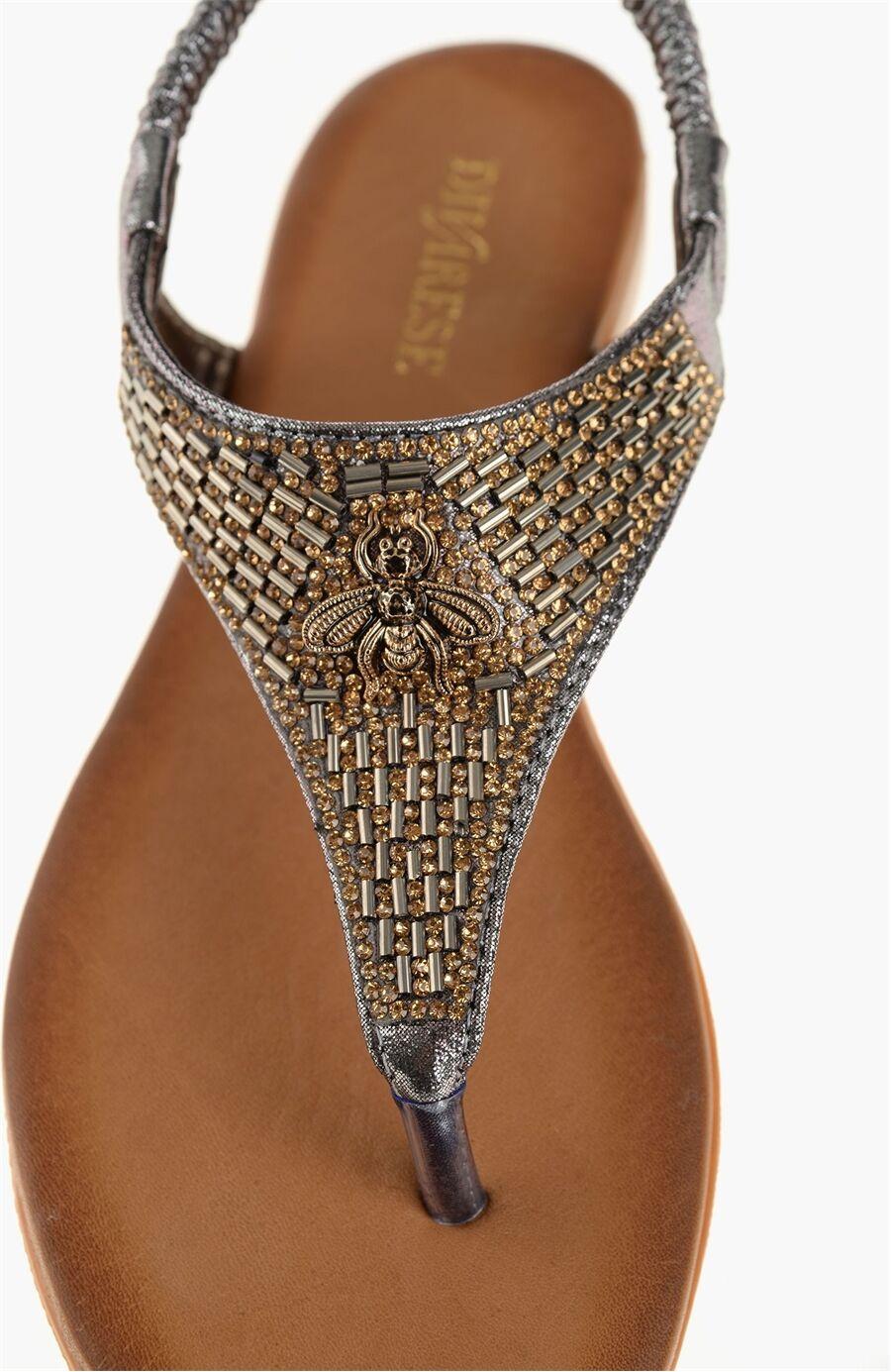 Platin Sandalet
