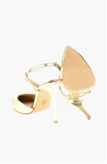 Altın Rengi Stiletto