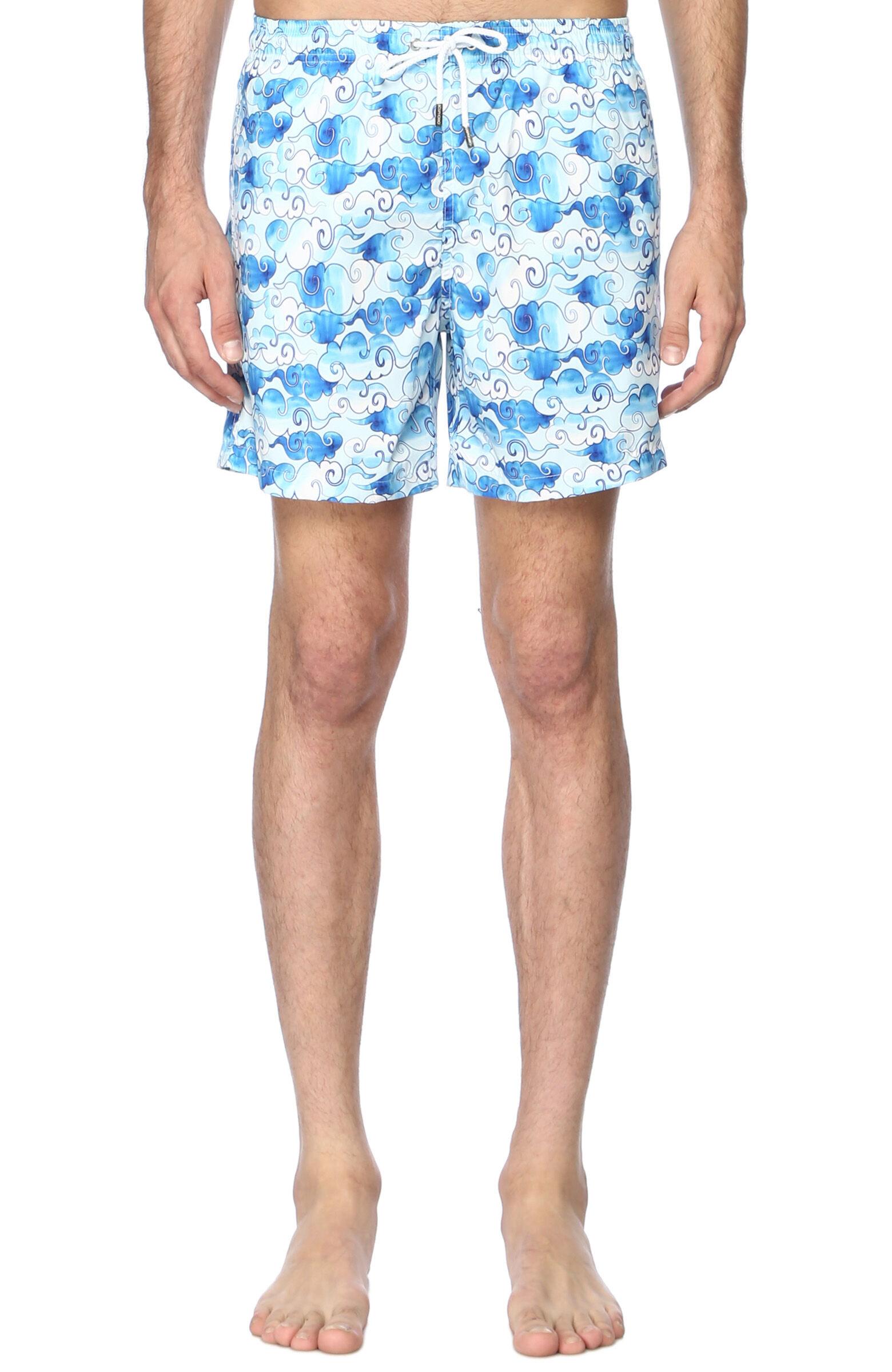 Bulut Desenli Mavi Beyaz Mayo NetWork erkek XXL