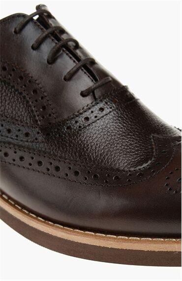 Deri Kahverengi Ayakkabı