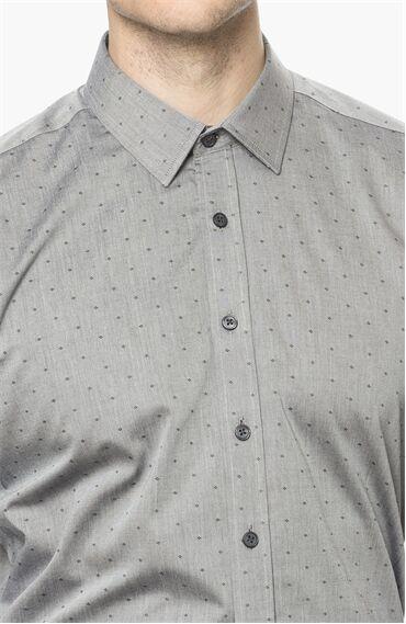 Armürlü Siyah Gömlek