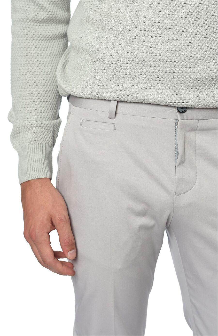 Slım Fit Gri Pantolon