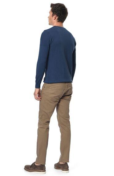 Slım Fit Camel Casual Pantolon