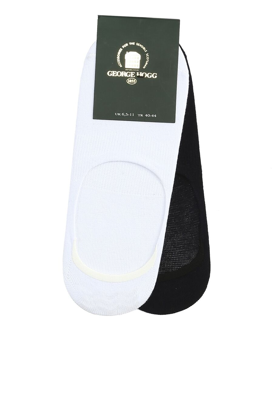 Beyaz Lacivert 2li Çorap Set