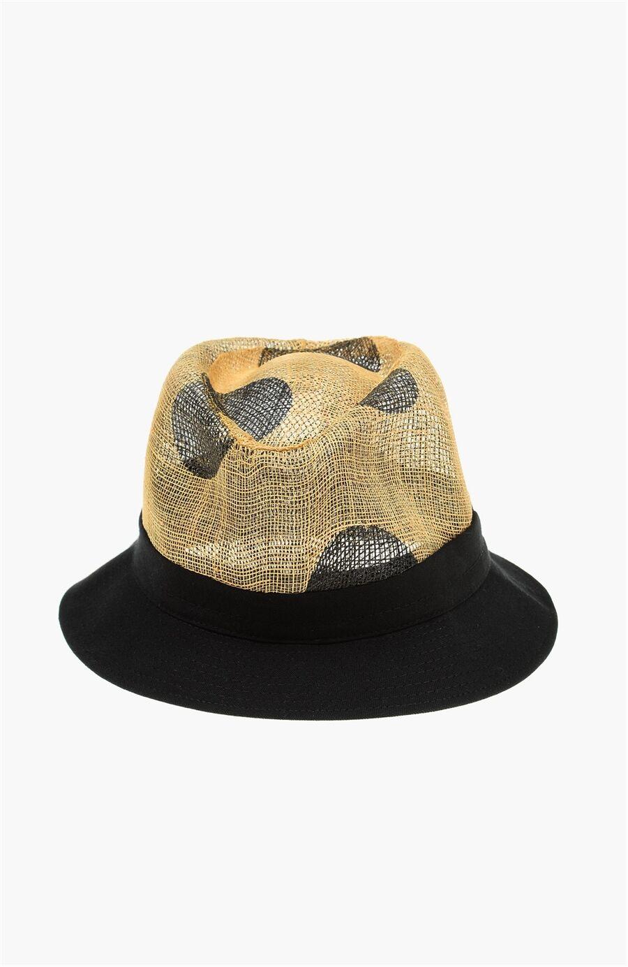 Dıvarese Siyah Bej Şapka – 249.0 TL