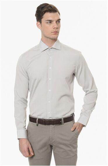 Armürlü Beyaz Gömlek