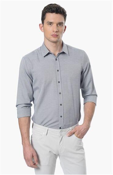 Armürlü Siyah Beyaz Gömlek