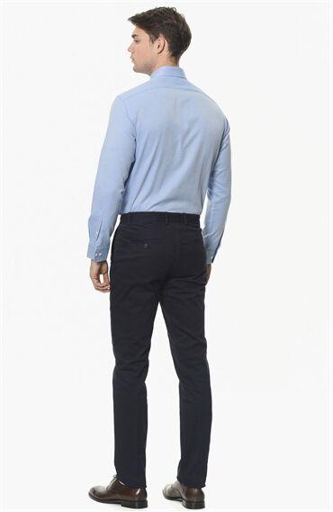 Slım Fit Lacivert Pantolon
