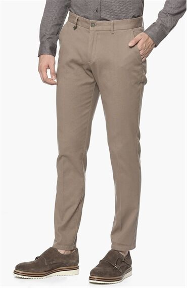 Armürlü Desen Vizon Pantolon