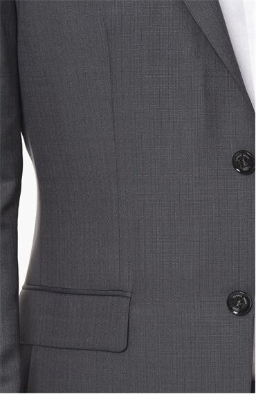Mikro Slım Fit Antrasit Takım Elbise