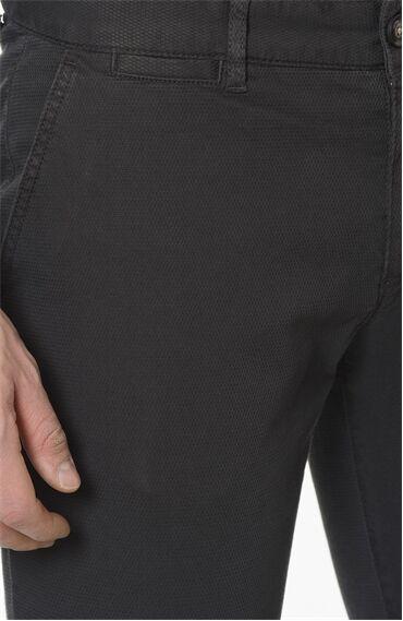 Armürlü Desen Antrasit Casual Pantolon