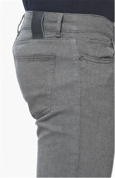 Armürlü Mint Yeşili Casual Pantolon