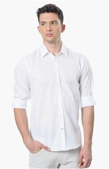 Non Iron Beyaz Gömlek