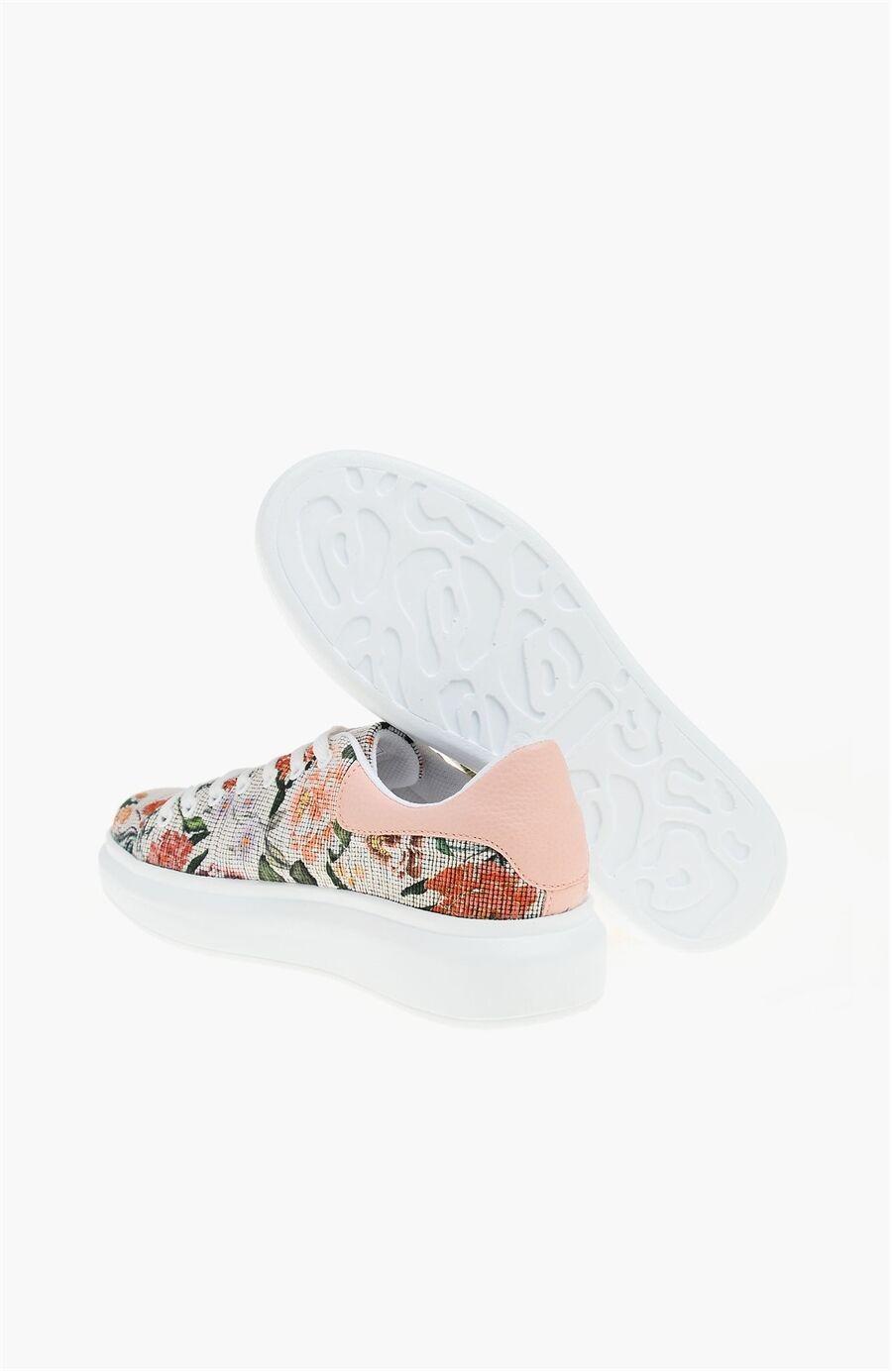 Bej Kadın Sneaker