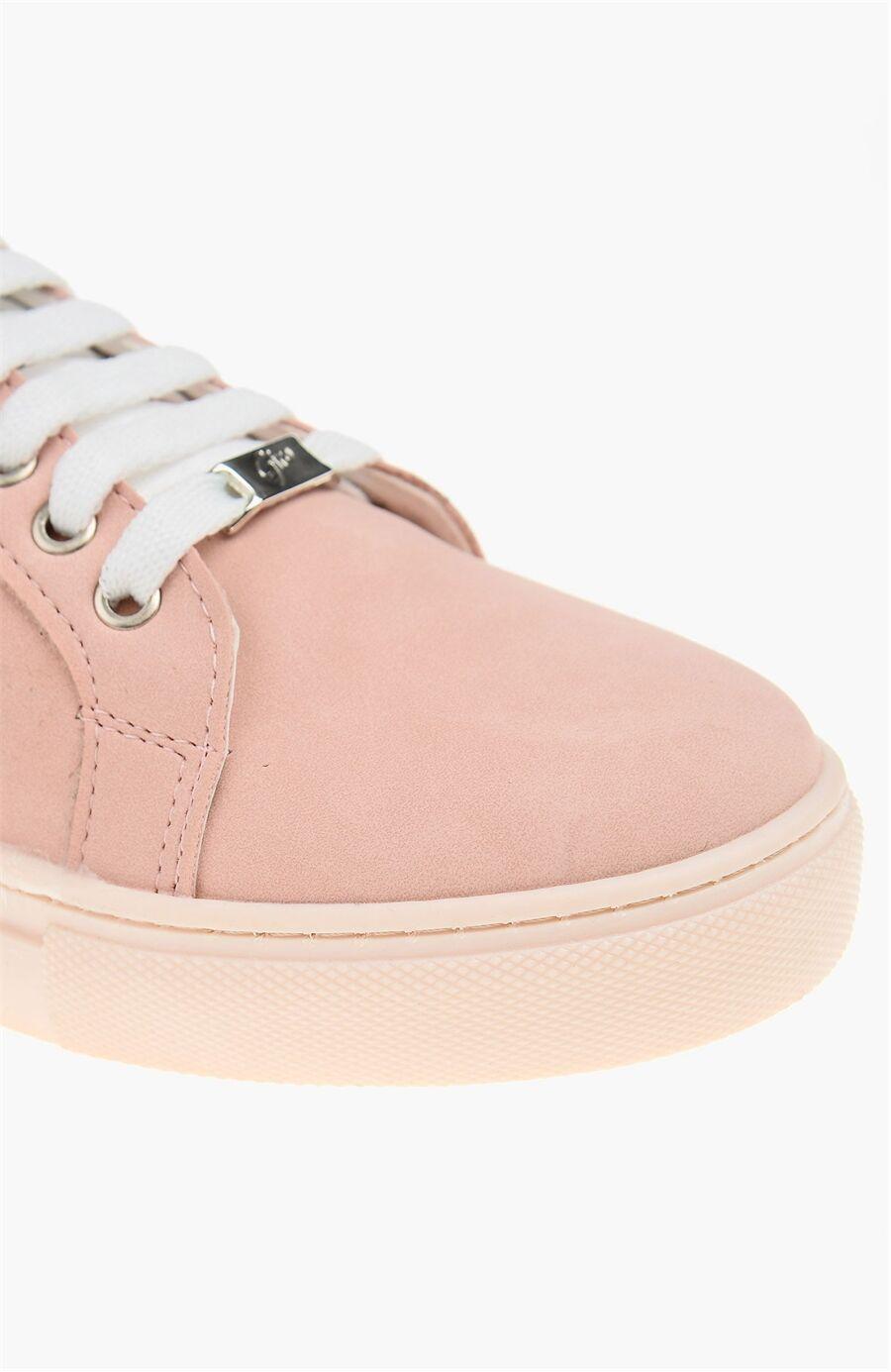 Nubuk Pudra Rengi Sneaker