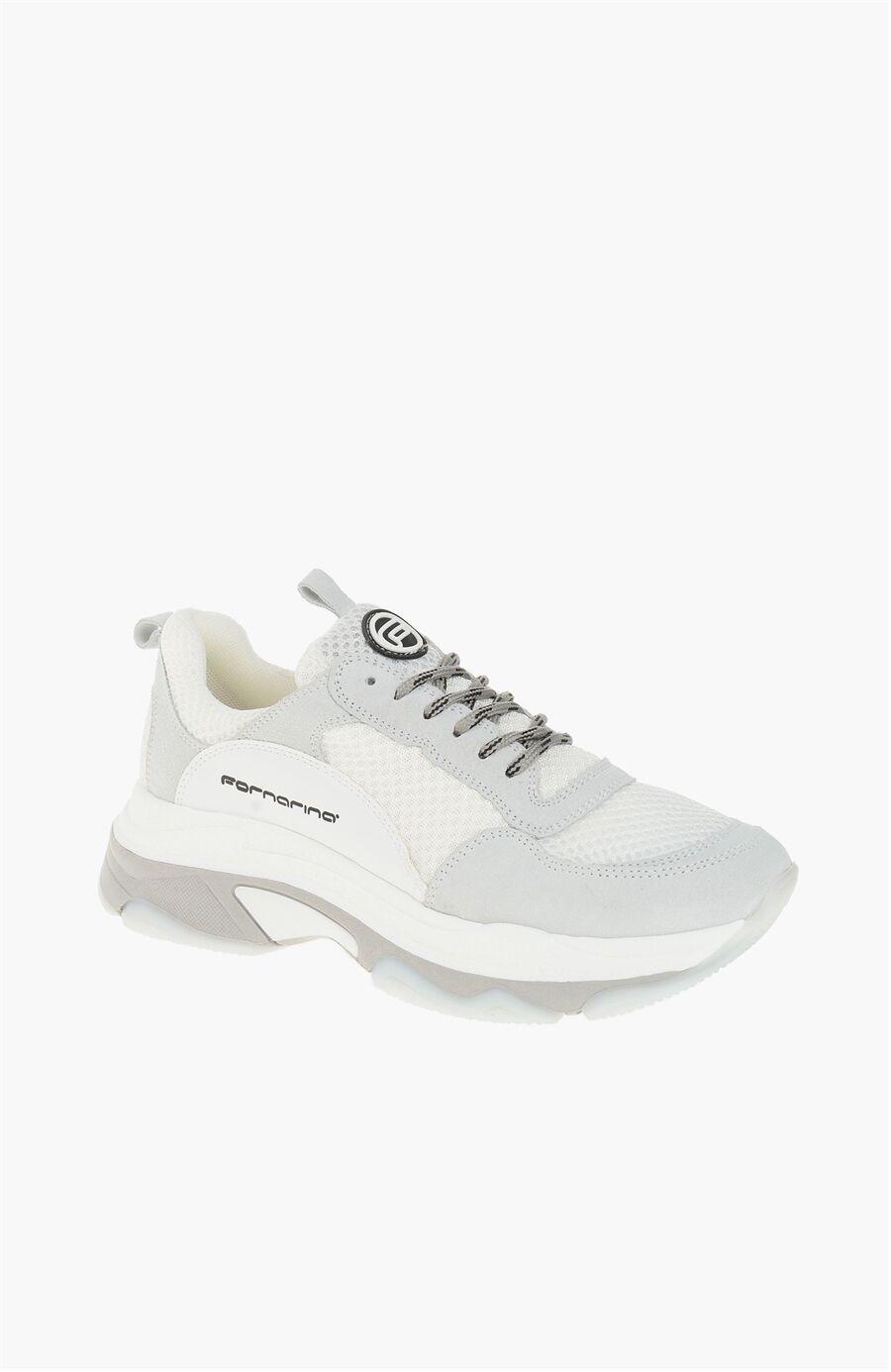 Dıvarese Süet Beyaz Sneaker – 695.0 TL