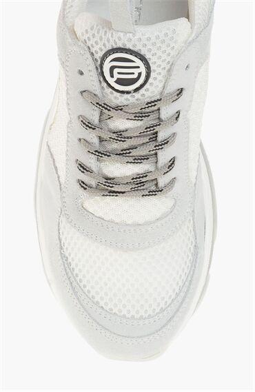 Süet Beyaz Sneaker